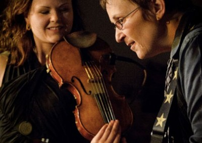 Mary Gauthier & Tania Elizabeth - Photo by Steve Ide