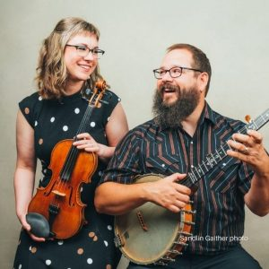 April Verch Duo - May 21, 2022 - LIVE, IN-PERSON @ Rose Garden Coffeehouse, Mansfield MA